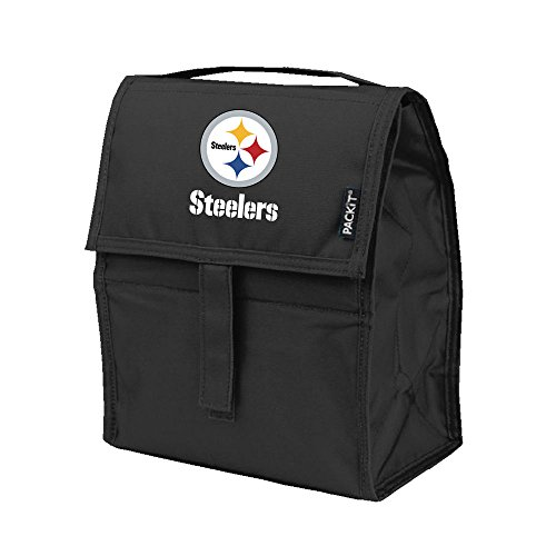 Kolder NFL Pittsburgh Steelers Freezable Lunch Bag, Large, ()