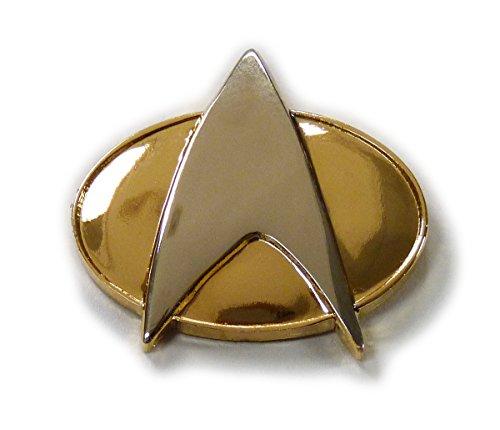 Communicator Pin (Star Trek TNG The Next Generation 1/2 Size Communicator Metal PIN)