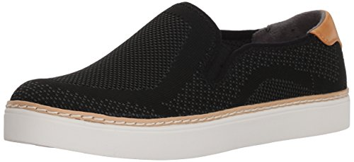 Dr. Scholl's Shoes Women's Madi Sneaker, Black Knit, 11 M US