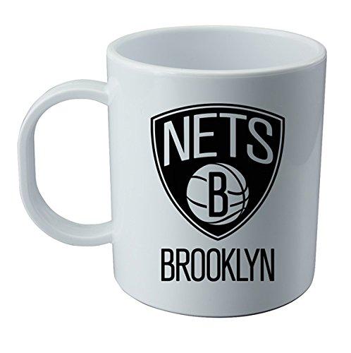 Tazza y adesivo dell' Brooklyn Nets - NBA Wallp