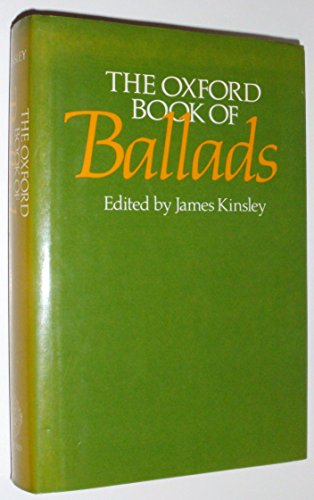 The Oxford Book of Ballads
