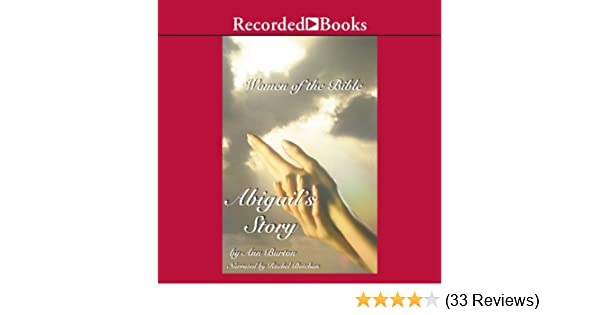 Amazon Women Of The Bible Abigails Story Audible Audio