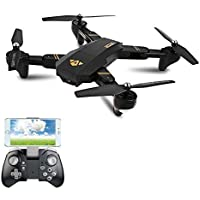 MD Group Quadcopter RTF Foldable Arm RC WIFI FPV With Wide Angle HD Camera High Hold Mode
