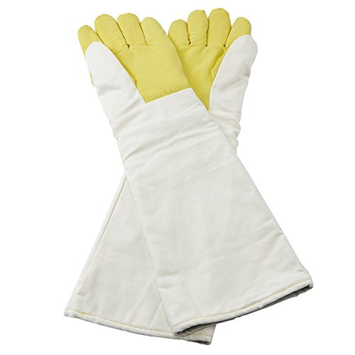 Safety Heat Resistant Glove Kevlar High Temperature 300 ℃ Furnace Melting Gloves (Extra Large) - Discount Wetsuit