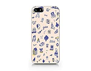 Craftdesign- Hard Plastic Cover Phone Case Protection for Iphone 5 Funky Funny Design Cute Hot Trend
