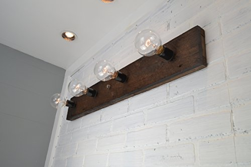 Wood Vanity Light by West Ninth Vintage (Image #1)