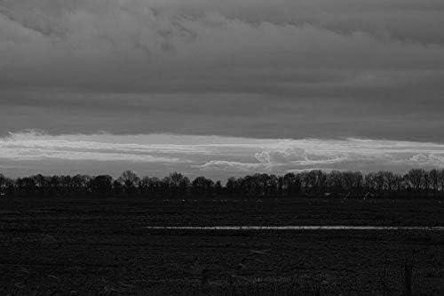美しい夕日の壁紙-自然の壁紙-#39515 - 白黒の キャンバス ステッカー 印刷 壁紙ポスター はがせるシール式 写真 特大 絵画 壁飾り120cmx80cm