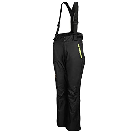 Prettyia Women s Ski Pants Bibs Warm Fleece Lined Mountain Climbing Hiking  Snow Trousers - Black 68053fdd1