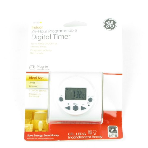GE Indoor 24 Hour Programmable Digital