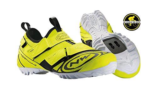 Northwave MULTI APP chaussures de vélo de montagne, jaune, la farine