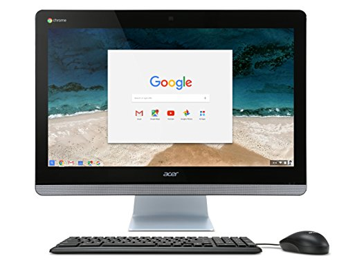 Acer Chromebase AIO Touch Desktop, 23.8″ Full HD Touch, Intel Core i5-5200U, 8GB DDR3L, 32GB SSD, Chrome, CA24I-5T