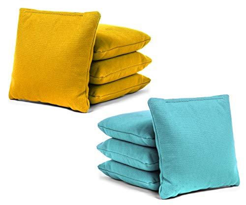 Tailgating Pros Cornhole Bags - 8 Regulation Size Corn Hole Bags - 23+ Colors Options