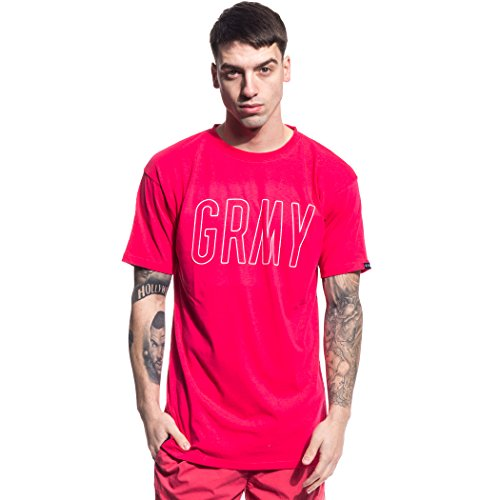 GRIMEY ROCK CREEK PARK TEE SS17 TEABERRY RED