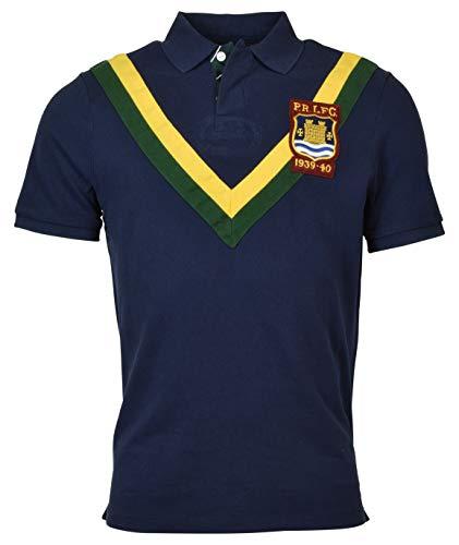 Polo Ralph Lauren Men's Classic Fit Crest Logo Rugby Shirt - M - Navy