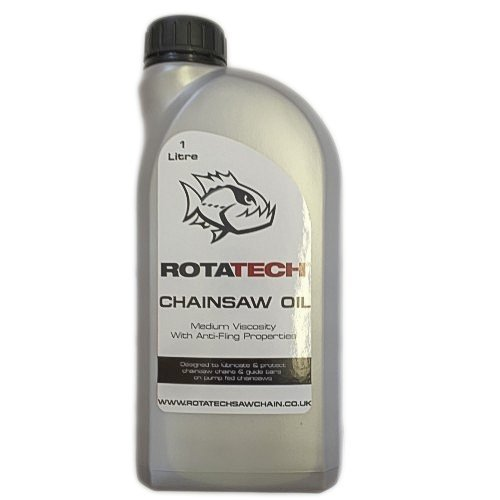 Genuine Rotatech Chainsaw Oil 1L for use with B & Q Chainsaws