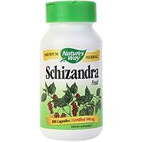 Nature's Way Schizandra Fruit, 100 Capsules (Pack of 2)