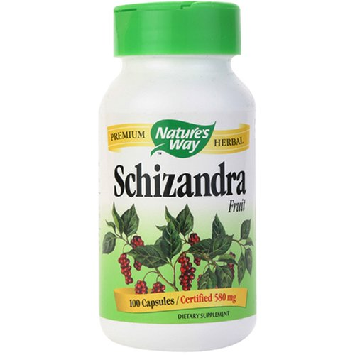Schizandra Fruit (Nature's Way Schizandra Fruit, 100 Capsules  (Pack of 2))