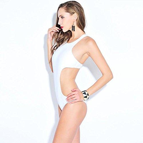 XLHGG Traje de baño femenino triangular del bikiní de las mujeres , s , white 2xl