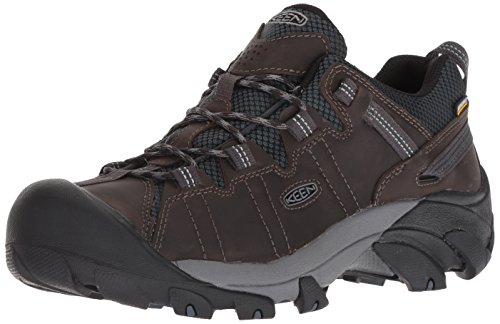 KEEN Men's Targhee II Waterproof Hiking Shoe, Mort/Dark Slate, 10 M ()