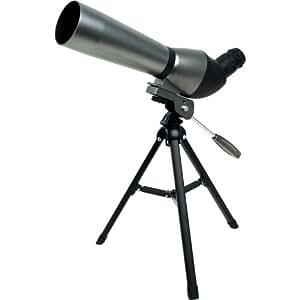 Whetstone Hawk Spotting Scope with 20x - 60x Zoom, Black