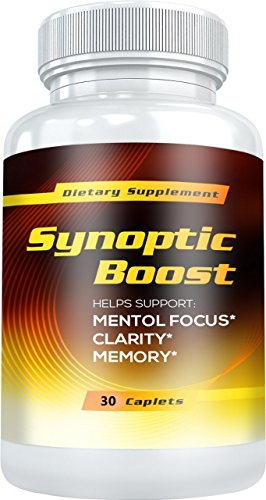 Synoptic Boost - Helps Support: Mental Focus, Clarity, Memory and Natural Energy Levels (30 Capsules) by Synoptic Boost