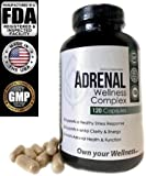 Cheap Adrenal Wellness Complex -with Natural Ingredients to Support a Healthy Stress Response, Mental Clarity, Energy and Adrenal Health & Function-.