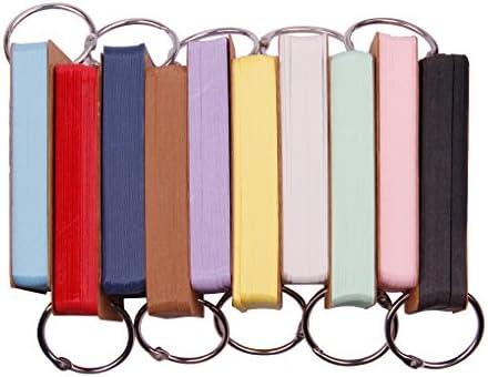 Karteikarten Blanko,Mini Mehrfarbige Kraftpapier Karten f/ür Vokabel Lernen Lernkarten Karteikarten Kariert Index Cards- 6 Pack//300 Blatt