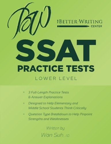 SSAT Practice Tests: Lower Level