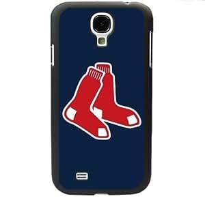 MLB Major League Baseball Boston Red Sox Samsung Galaxy S4 SIV I9500 TPU Soft Black or White case (Black) by Maris's Diary