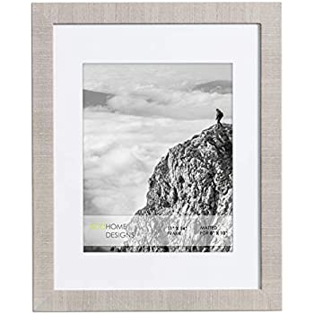 Amazon Com 11x14 Frame With Mat For 8x10 Wall Picture