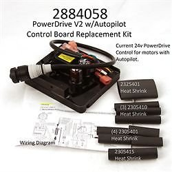Minn Kota Powerdrive V2 with Autopilot Control Board #2304058 #2884058