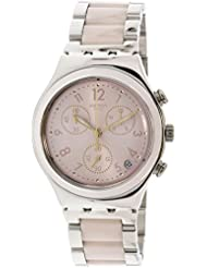 SWATCH watches Irony Chrono DREAMNIGHT ROSE YCS588G watch