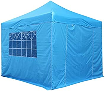 3x3m Pop up Gazebo with 4 x fully waterproof superior Side Walls 100/% waterproof 17 Colours ava All Seasons Gazebos Heavy Duty