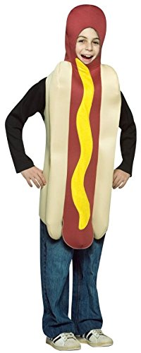 Rasta Imposta - Hot Dog Child Costume, One-Size (7-10)