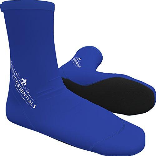 Nordic Essentials Beach Socks (1 Pair) Wear in Sand, Playing Volleyball & Soccer - Kids, Women & Men - 1 Year Warranty