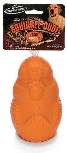 Premier Real Tree Squirrel Dude Large Orange Chewer, My Pet Supplies