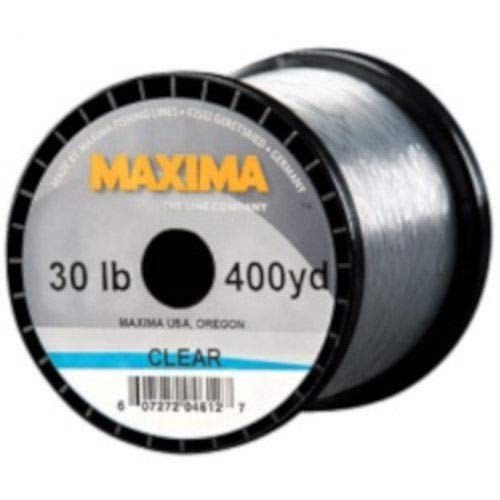 Maxima Clear Monofilament Guide Spool - 10 Pound - 600 Yards