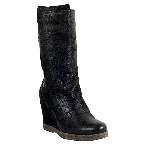 Miz Mooz Noble Femmes Wedge Boot Noir