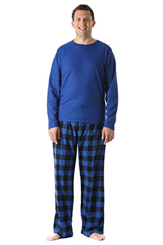 45910-1C-S #FollowMe Polar Fleece Pajama Pants Set for Men / Sleepwear / PJs