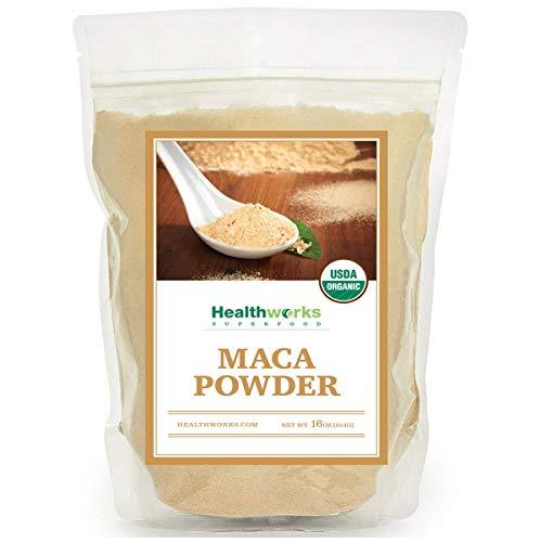 - Healthworks Maca Powder Raw Organic 1 Pound