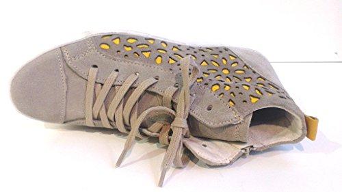 Tamaris - Botas de Piel para mujer Beige beige