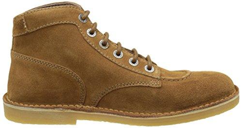 Kickers Orilegend, Zapatos de Cordones Derby Para Mujer marrón (camel)