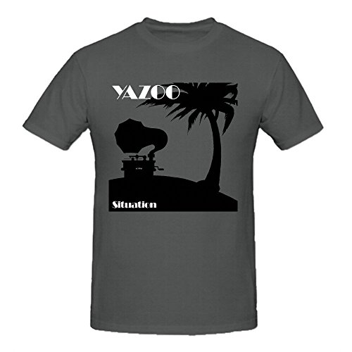 Yazoo Situation Comfot Round Neck T Shirt For Men Grey (The Musical Body Program compare prices)