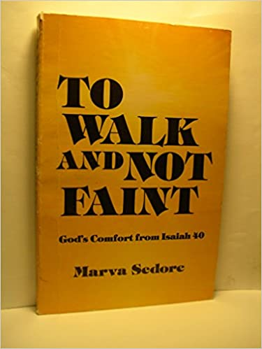 Book To walk and not faint