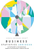 Business Statistics Abridged: Australia New Zealand with Online Study To ols 12 months