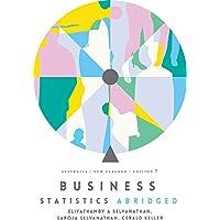 Business Statistics Abridged: Australia New Zealand with Online Study To ols 12 months