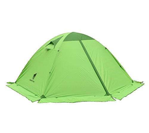 GEERTOP 4-season 2-person Waterproof Dome Backpacking Tent For Camping, Hiking, Travel, Climbing – Easy Set Up