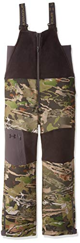 Under Armour Boys Mid Season Bib, Ua Forest Camo (940)/Black, Youth Medium
