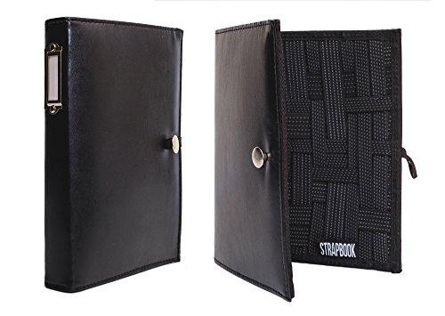 Strapbook - Universal Organizer and Binder for Your Stuff (Black)