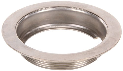 T&S Brass 010384-45 3-1/2-Inch Waste Drain Face Flange, Stainless Steel